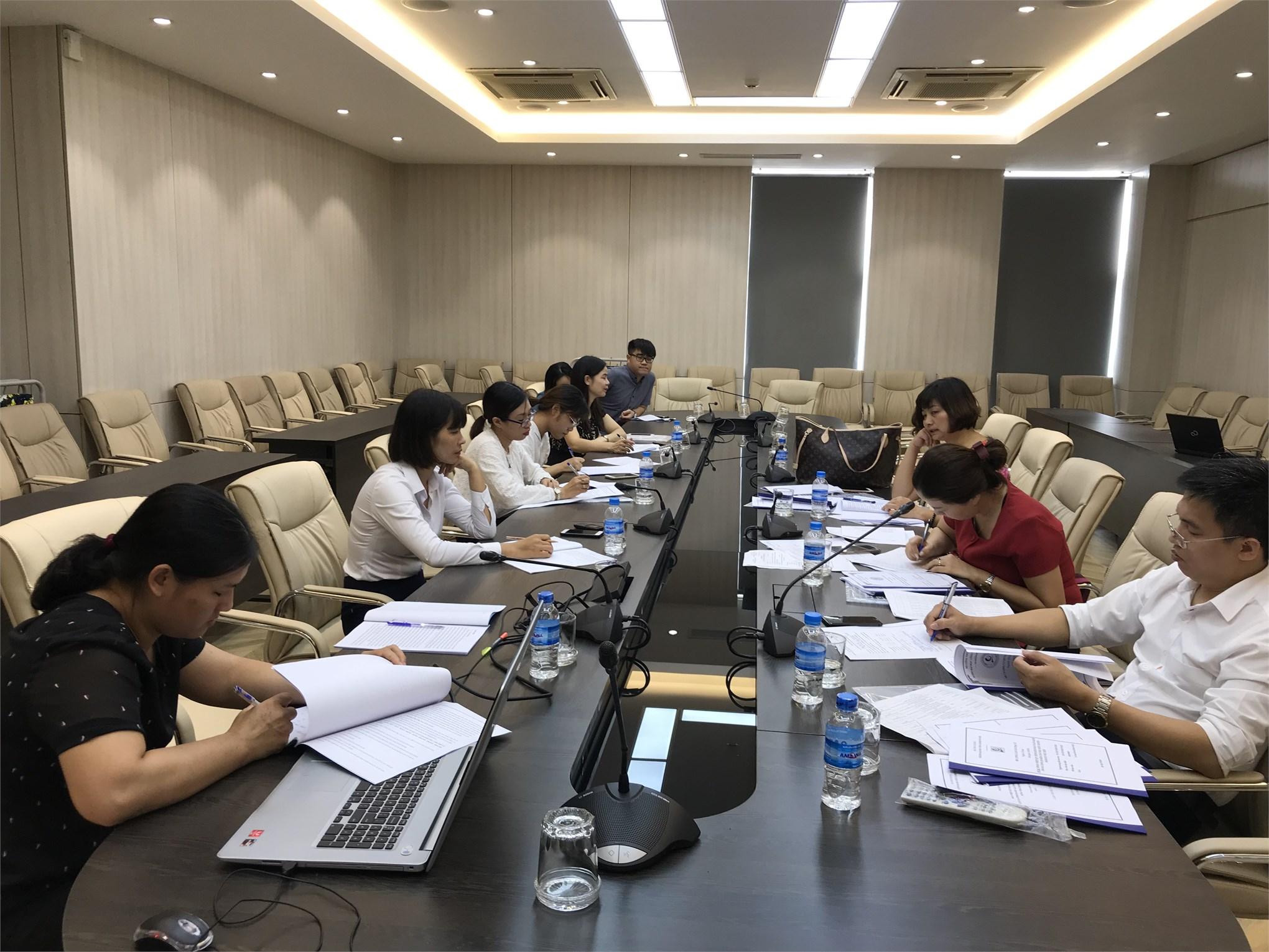 Đánh giá đề cương luận văn thạc sĩ của Cao học Khóa 8-Đợt 1 (2018-2020)