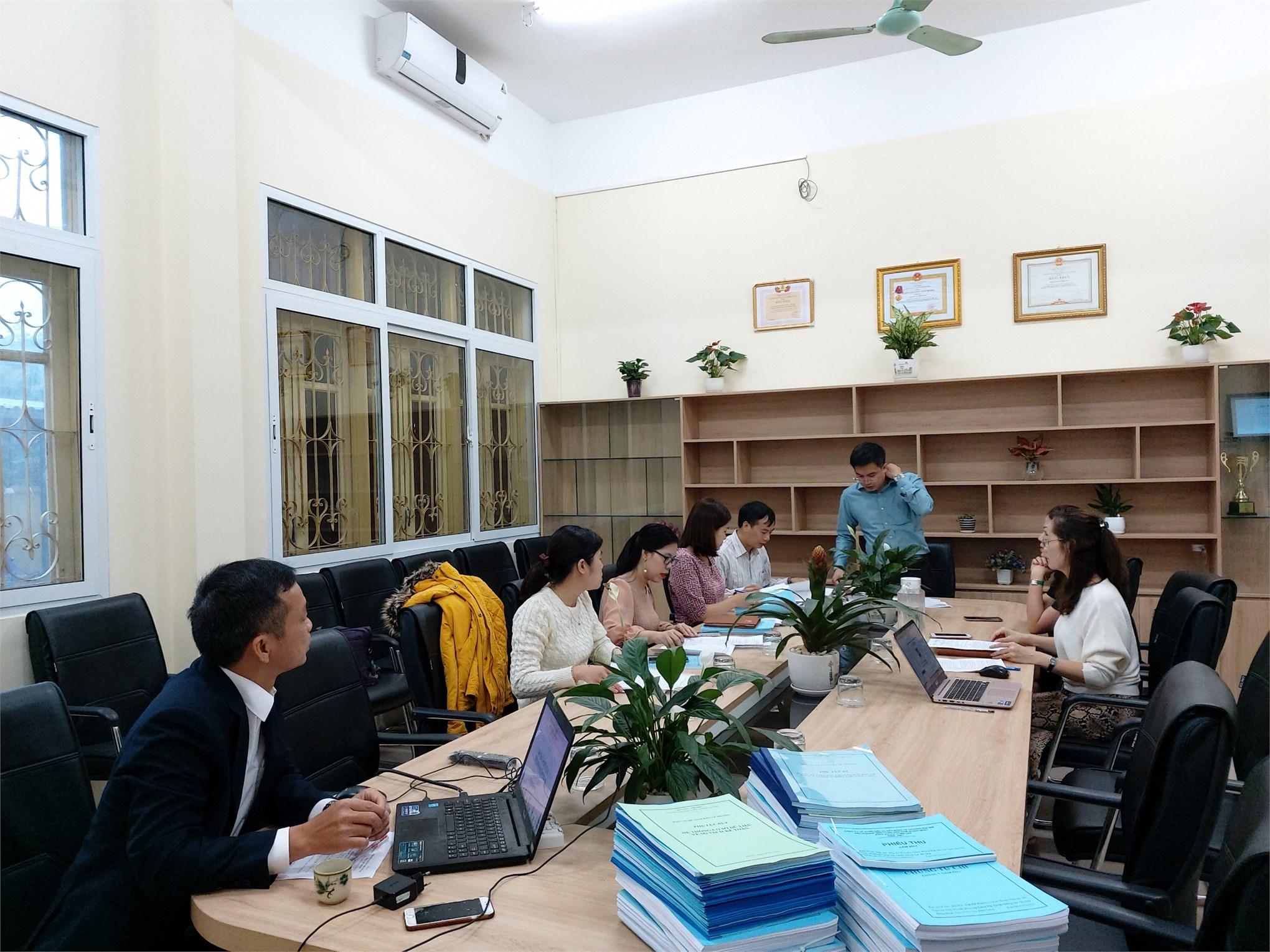 Nghiệm thu cấp Khoa đề tài NCKH cấp trường năm 2018 của TS.Giáp Đăng Kha