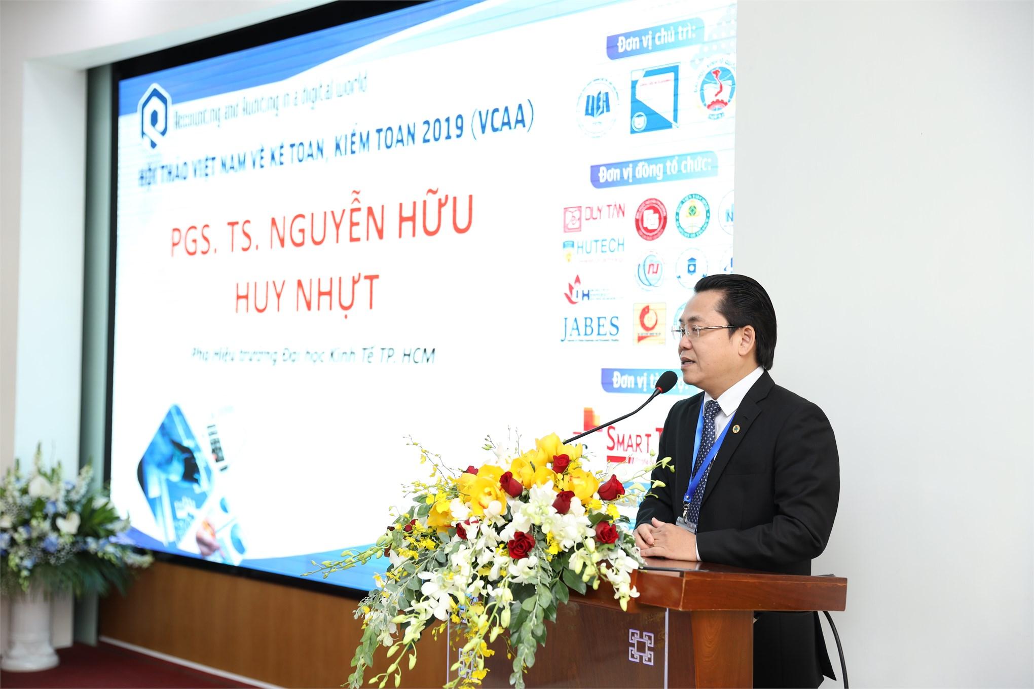 Hội thảo quốc gia về Kế toán, Kiểm toán lần thứ 1-VCAA tổ chức tại Thành phố Hồ Chí Minh