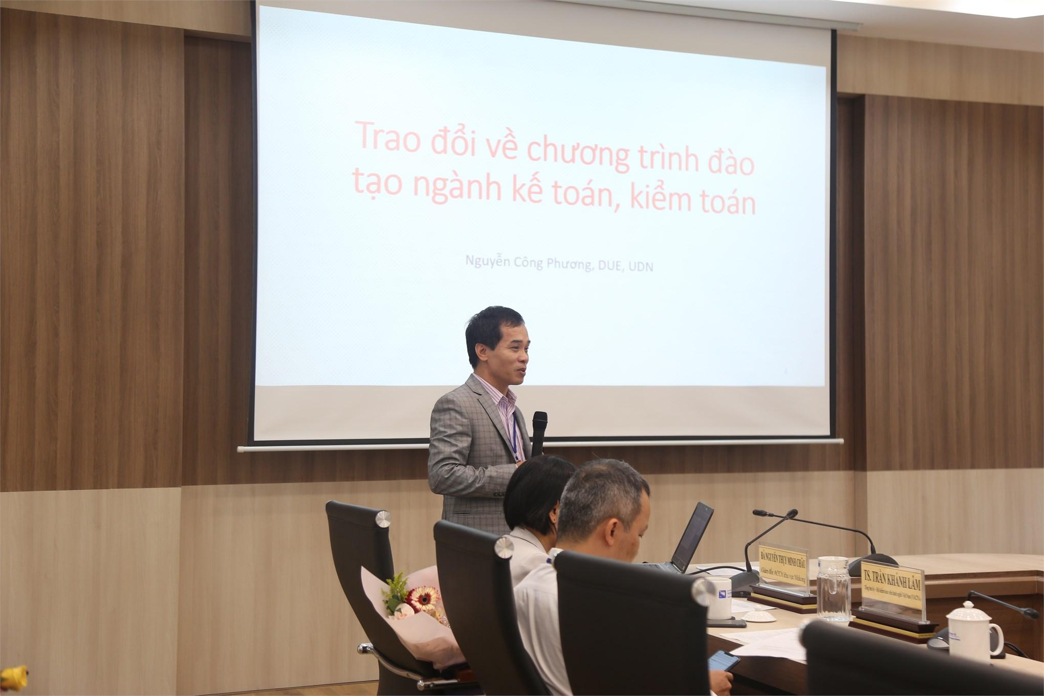 Hội thảo quốc gia về Kế toán, Kiểm toán lần thứ 2-VCAA