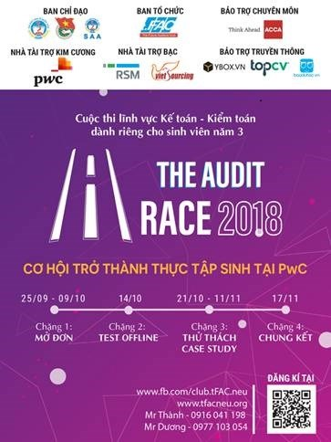 CUỘC THI THE AUDIT RACE 2018