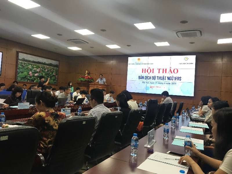 Hội thảo dịch bộ thuật ngữ IFRS