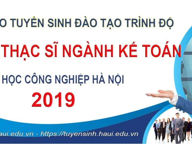 Thông báo tuyển sinh sau đại học năm 2019-Đợt 2