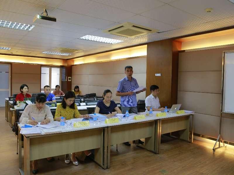 Tổ chức Hôi đồng đánh giá luận văn thạc sĩ cho Cao học viên khóa 8-Đợt 1