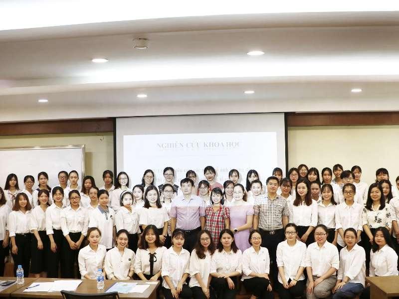 Hội nghị NCKH sinh viên khoa Kế toán Kiểm toán năm học 2019-2020