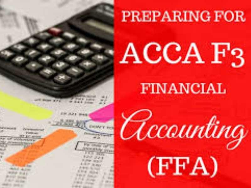 Khóa học online miễn phí 15 ngày học phần Financial Accounting F3-ACCA