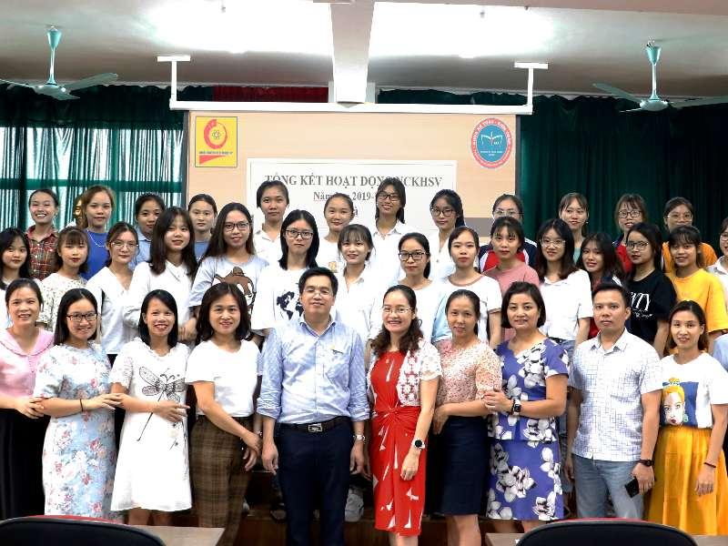 Hội nghị tổng kết hoạt động NCKH SV năm học 2019-2020 và triển khai hoạt động NCKH SV năm học 2020 của khoa Kế toán Kiểm toán