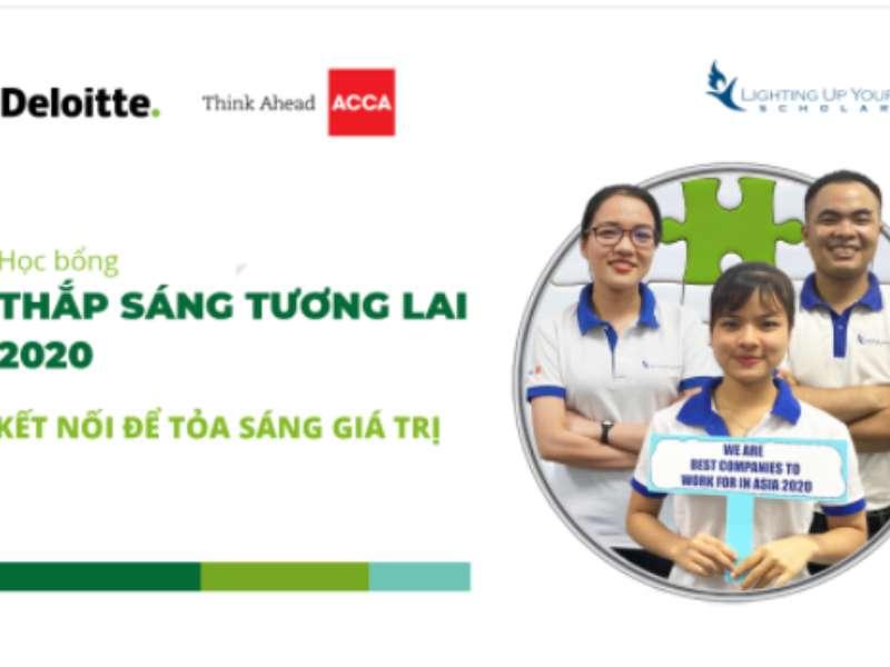 Học bổng thắp sáng tương lai 2020 ACCA-Deloitte